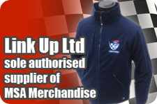 Link Up Ltd. Motorsport gear. Sole authorised supplier of MSA Merchandise