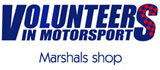 Volunteers in Motorsport (Marshals Shop)